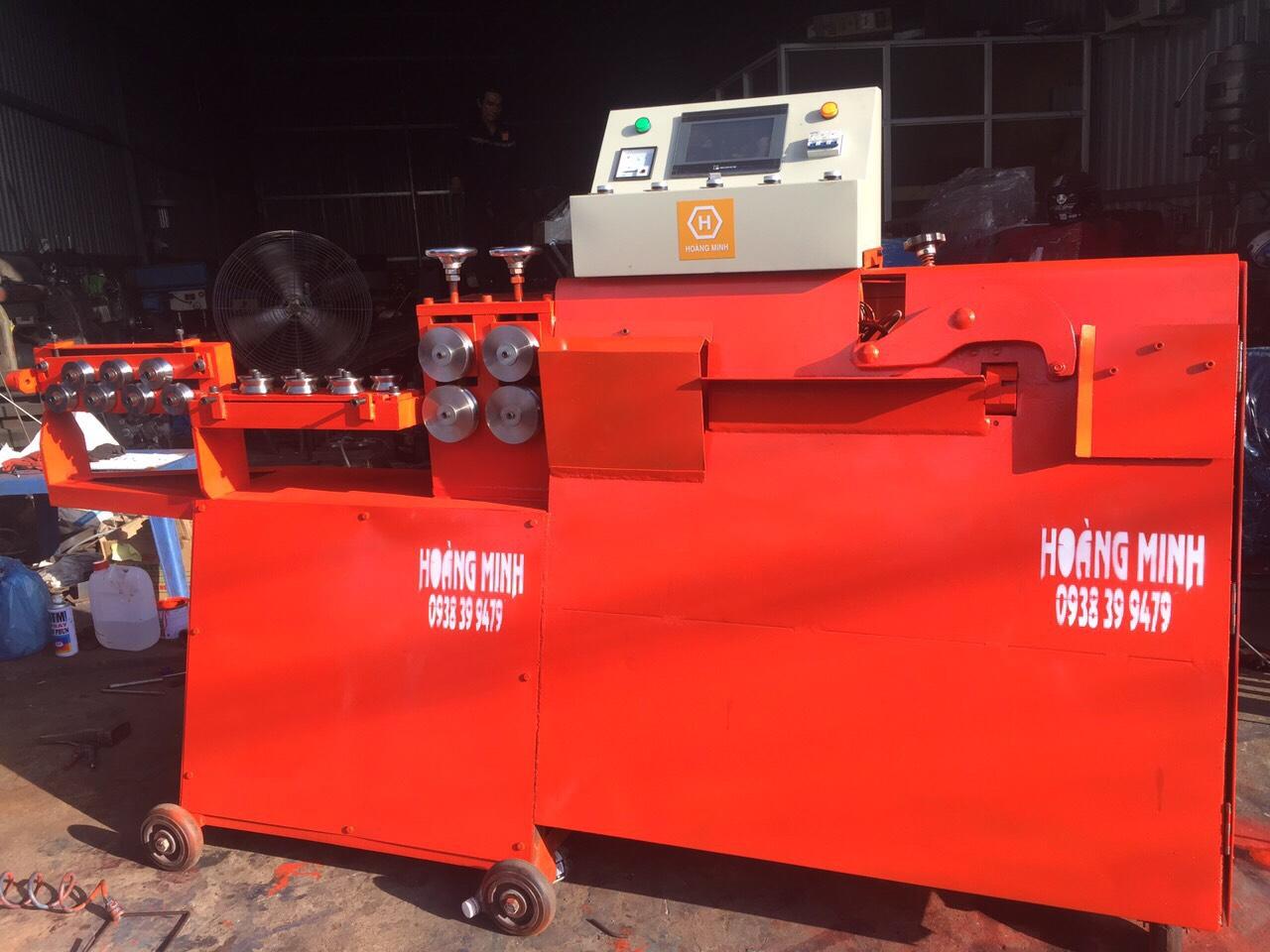 CTy máy bẻ đai sắt Hoàng Minh