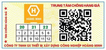 Check Mã Vạch Máy Bẻ Tai Dê Hoàng Minh